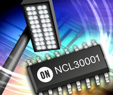 ON Semiconductor's new offline LED driver NCL30001 performance characteristics