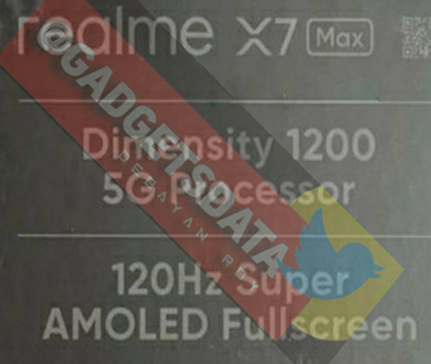 MediaTek Dimensity 1200 is rumored to be used in Realme X7 Max, and the 4nm chip will be released soon. - Image