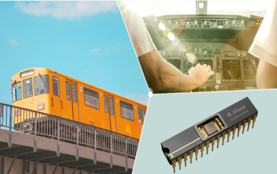 Infineon introduced the second generation of highly reliable non-volatile SRAM.